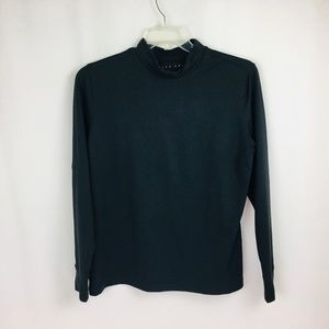 Nike Golf Women Fit Dry Black Long Sleeve Top